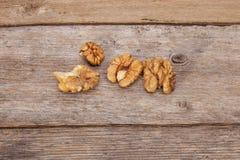 Organic Walnuts Stock Images