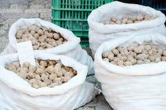 Organic walnuts Royalty Free Stock Photography