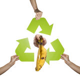 Organic waste Royalty Free Stock Photography