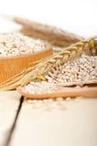 Organic wheat grains Royalty Free Stock Photography