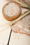 Organic wheat grains Stock Photo