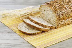 Organic Whole Sliced Bread Stock Photography