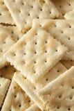 Organic Whole Wheat Soda Crackers Stock Images