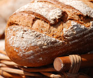 Organic wholemeal bread Stock Image