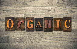 Organic Wooden Letterpress Theme Stock Photos