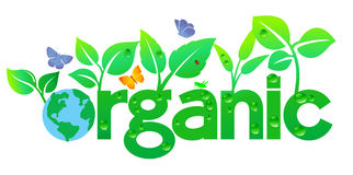 Organic World Earth - Go Green Stock Image