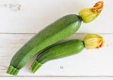 Organic zucchini Royalty Free Stock Photography