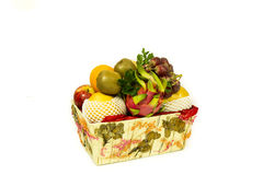 Organice fresh fruits Royalty Free Stock Photo
