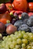 organiczne warzywa świeże owoce Zdjęcia Stock
