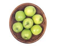 Organicznie babcia kowala jabłko Obrazy Royalty Free