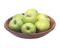 Organicznie babcia kowala jabłko Fotografia Royalty Free