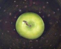 Organicznie babcia kowala jabłko Zdjęcia Royalty Free