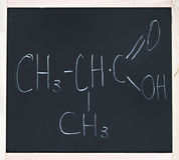 Organicznie chemia Zdjęcia Royalty Free