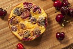 Organicznie Czereśniowy Cobbler tort Zdjęcie Royalty Free