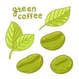 organicznie fasoli kawa Zdjęcia Stock