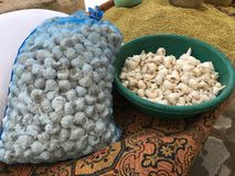 Organicznie garlics Zdjęcie Stock