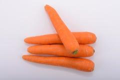 Organicznie marchewki dla zdrowie Obraz Stock