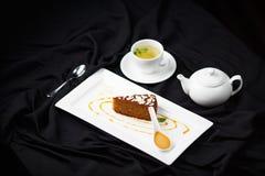 Organicznie marchwiany tort Zdjęcia Stock