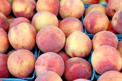 Organicznie nektaryny Obrazy Stock