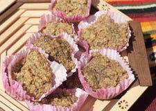 Organicznie oatmeal ciastka Obrazy Stock