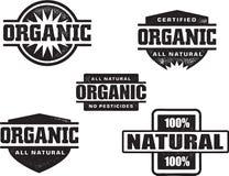 organicznie pieczątka Zdjęcie Stock
