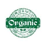 organicznie pieczątka Fotografia Royalty Free