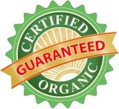 Organicznie produkt etykietki wektor Obrazy Stock