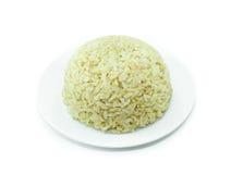 Organicznie ryż w naczyniu Zdjęcie Stock