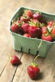 organicznie strawberrries Zdjęcia Stock