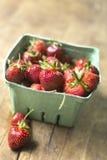 organicznie strawberrries Obrazy Royalty Free