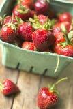 organicznie strawberrries Zdjęcia Royalty Free
