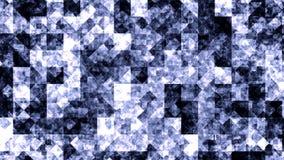 Organicznie strumienie popielaty, błękitny substanci chodzenie, bezszwowa pętla Abstrakta tła animowany symulować viscous ilustracja wektor