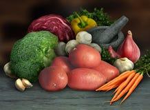 organicznie warzywa Zdjęcie Royalty Free