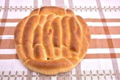 Organicznie zbożowy wholemeal chleb z ziarnami Zdjęcia Stock
