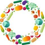 Organicznie zdrowy jedzenie Obraz Stock