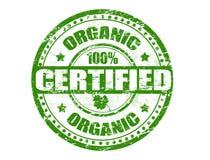 organicznie znaczek Zdjęcie Stock