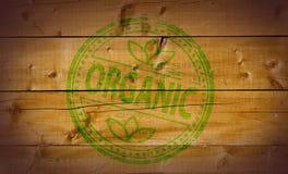 organicznie znaczek Fotografia Royalty Free