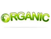 organicznie znak Obrazy Royalty Free