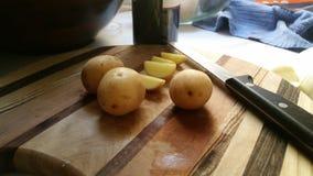 organicznych ziemniaków Obrazy Stock