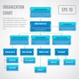 Organigramma infographic illustrazione di stock