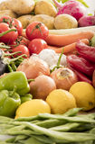 Organinc  vegetables Royalty Free Stock Images