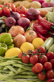 Organinc  vegetables Royalty Free Stock Photos