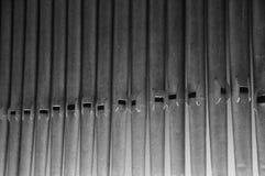 Organique, ligne des tuyaux d'organe photos libres de droits