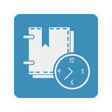 Organisateur Icon illustration libre de droits