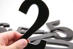 organisationsnummer för 2 hand Royaltyfria Bilder