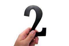organisationsnummer för 2 hand Arkivfoto