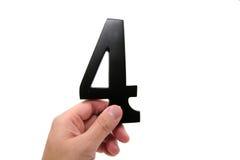 organisationsnummer för 4 hand Arkivbild