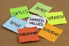 Organisatorische Kultur und Entwicklung Lizenzfreie Stockfotografie
