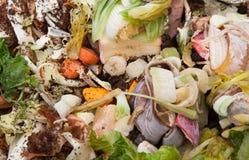 Organisch afval stock afbeeldingen