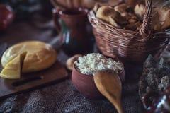 Organisch binnenlands voedsel Stock Fotografie